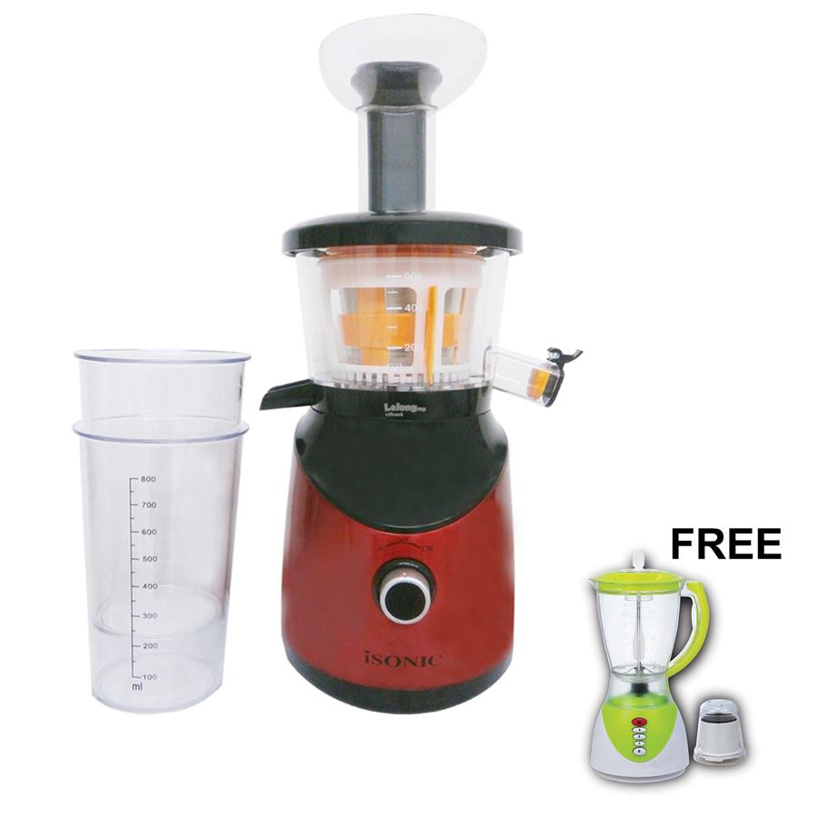 Is Slow Juicer Better : iSONIC SLOW JUICER ISJ-0001 (end 10/31/2017 2:15 PM - MYT )
