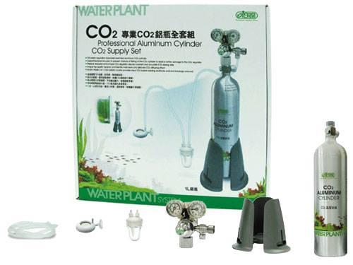ISTA Professional Aluminum Cylinder Co2 Supply Set 1L