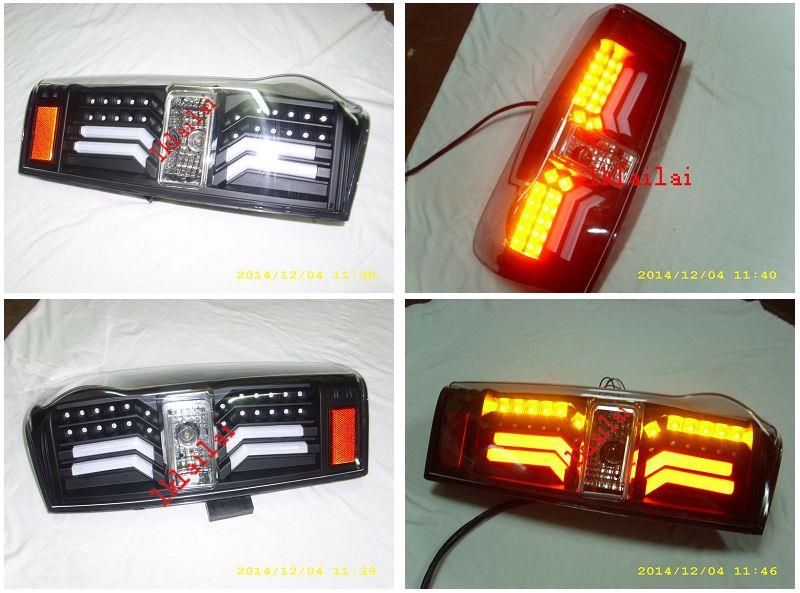 Isuzu D-Max 12 LED LIGHT BAR TAIL LAMP