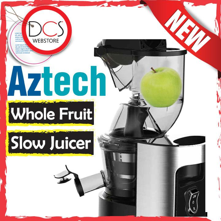 [NEW ITEM] Aztech ASJ2000 JuiceMAGNUM Slow Juicer Whole Fruit Feeding Lazada Malaysia