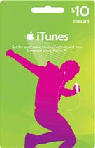 iTune Gift Card 10USD (US Only)
