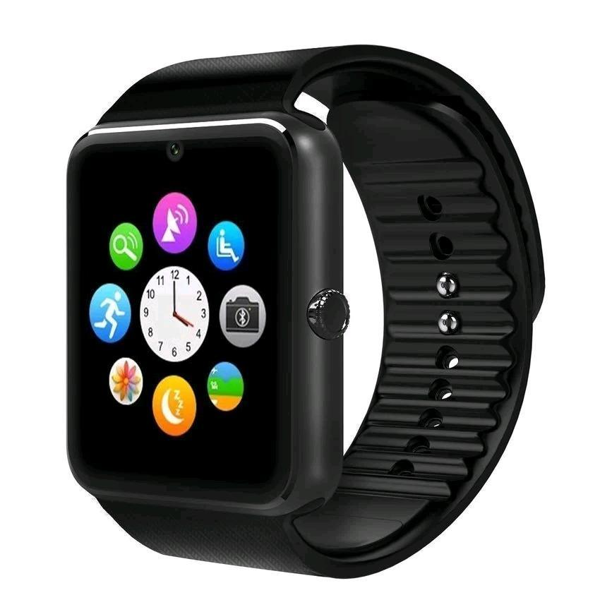 iWatch GT08 2.0M Digital Bluetooth Smart Watch (Black)