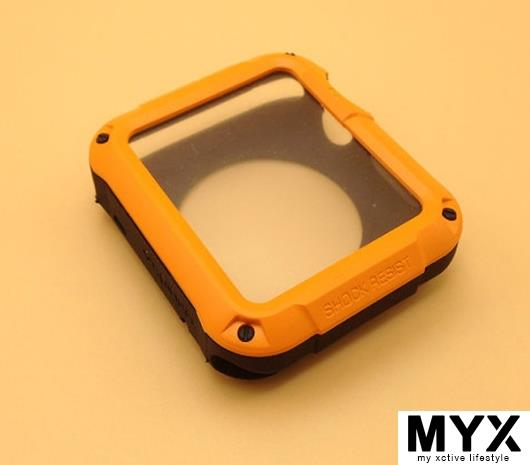 iWatch Tough Armor Shock Resistance Silicone Casing Case Cover 42mm