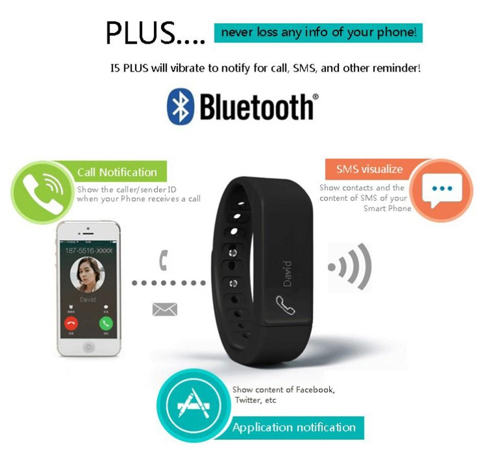 iWown i5 Plus Smart Wristband for iOS/Android - BEST PRICE