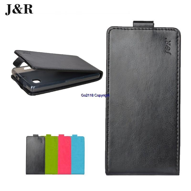 J&R Doogee F3 Pro F3Pro X5 X5Max PU Leather Flip Top Case Cover Casing