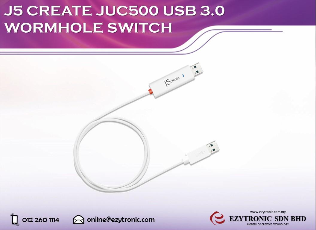 J5 Create JUC500 USB3.0 Wormhole Switch