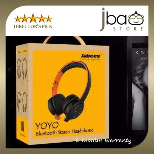 Jabees Yoyo Bluetooth Stereo Premium Quality Headphone Headset