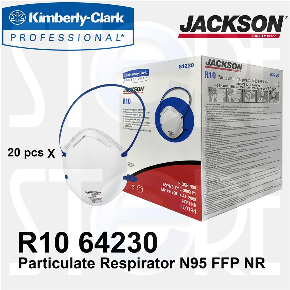 Jackson Safety R10 Particulate Respirator N95 Mask 5 pcs (Original)