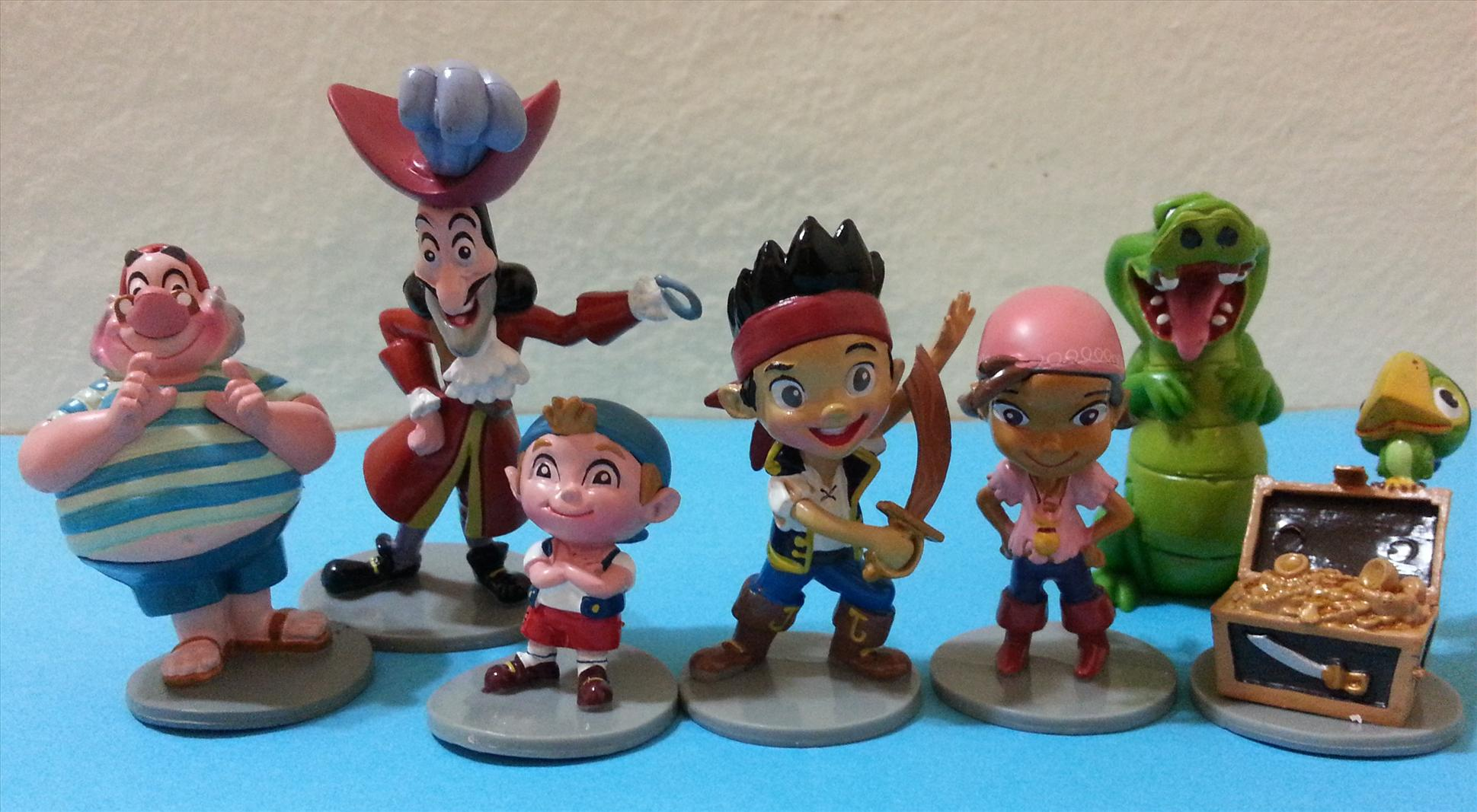 Jake and the Neverland Pirates Cake Topper Figurine -JPCT01