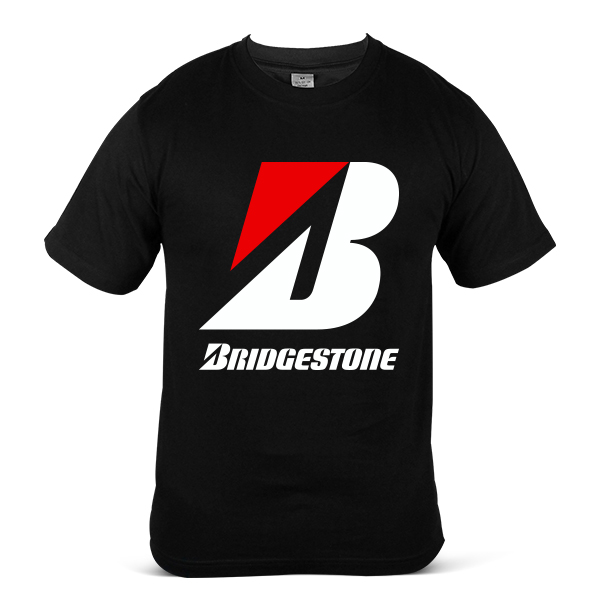 Japan BRIDGESTONE Car Lorry Tyre Tire Rubber Unisex Casual T Shirt 2