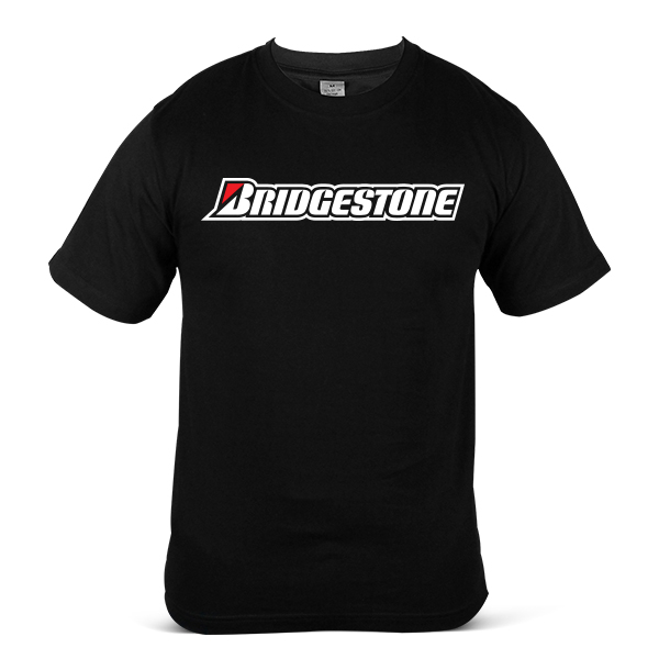 Japan BRIDGESTONE Car Lorry Tyre Tire Rubber Unisex Casual T-Shirt 2