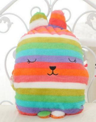 Japan Craftholic Bunny Soft Toy + Hand Pillow + Blanket (3-in-1) - Rai