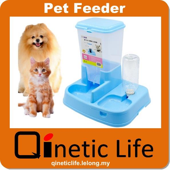 Japan Design Cat Dog Automatic Pet Feeder and Water Dispenser