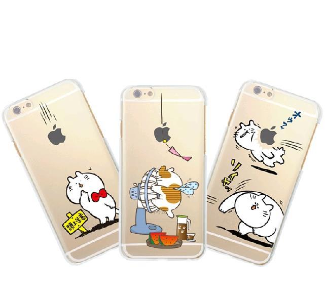 Japan Funny Soft Phone Casing Case Cover iPhone 6 / 6 Plus