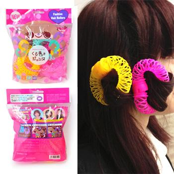 Japan New~Pear Head Curlers Donuts