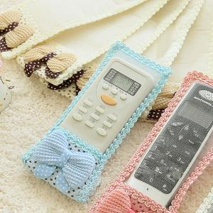 Japan Type Ribbon Lace Fabric Remote Control Cover (S)