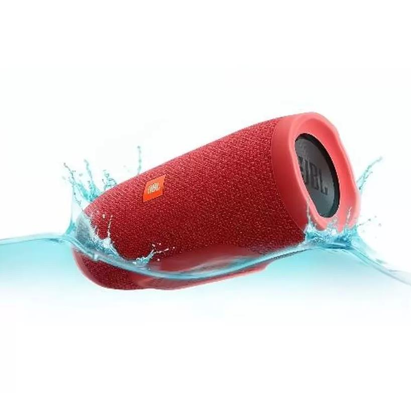 JBL Charge 3 Rechargeable Waterproof Portable Bluetooth Speaker-RED