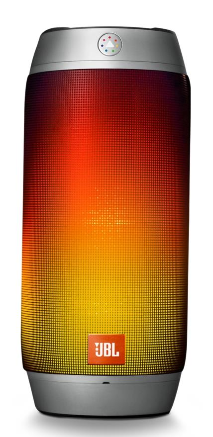 JBL PULSE 2 PORTABLE BT SPEAKER WITH LED (SILVER)