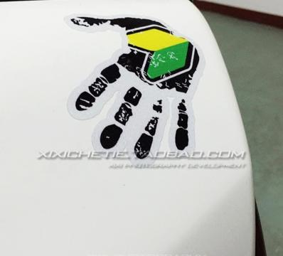 JDM HANDPRINT CAR DECAL STICKER (PRE ORDER)