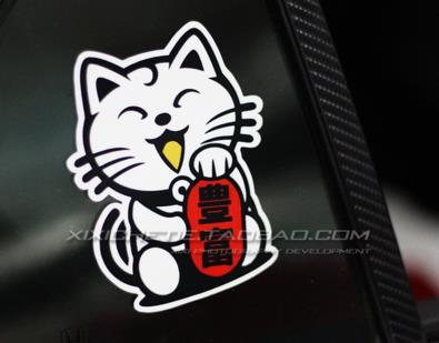 JDM LUCKY CAT CAR DECAL STICKER (PRE ORDER)
