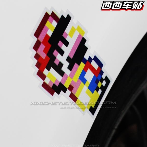 JDM SUPER MARIO CAR DECAL STICKER(PRE ORDER)