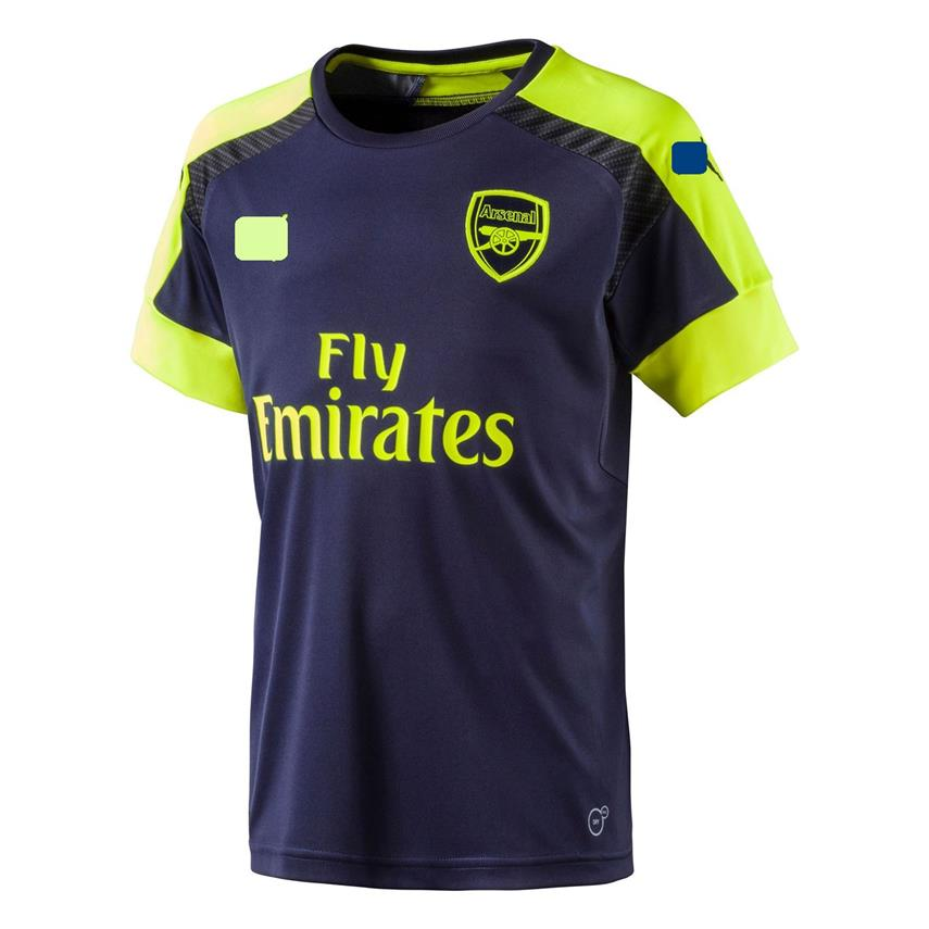 Jersey/Jersi Arsenal Third 3rd 2016/2017 WITH BPL ARM PATCH