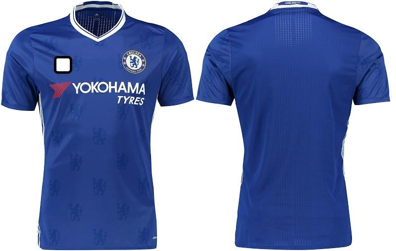 Jersey/Jersi Chelse@ Home 2016/2017- Adizero WITH BPL ARM PATCH