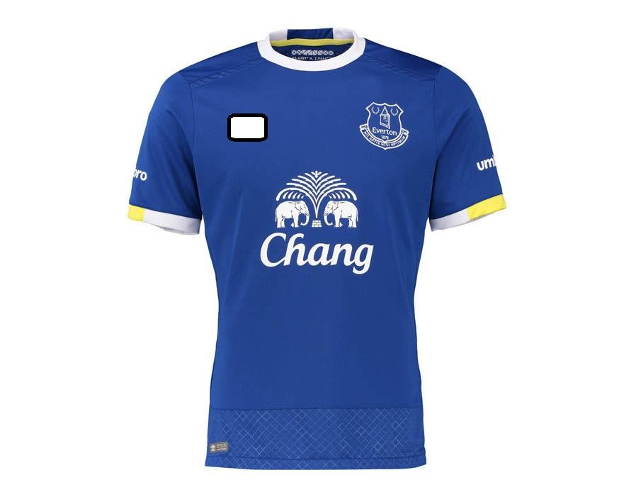 Jersey/Jersi Everton Home 2016/2017 WITH BPL ARM PATCH
