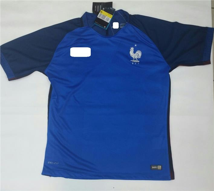 Jersey/Jersi France Home Euro 2016- Player Issue