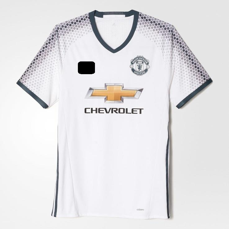Jersey/Jersi Man Utd 3rd Third 2016/2017- Adizero WITH BPL ARM PATCH