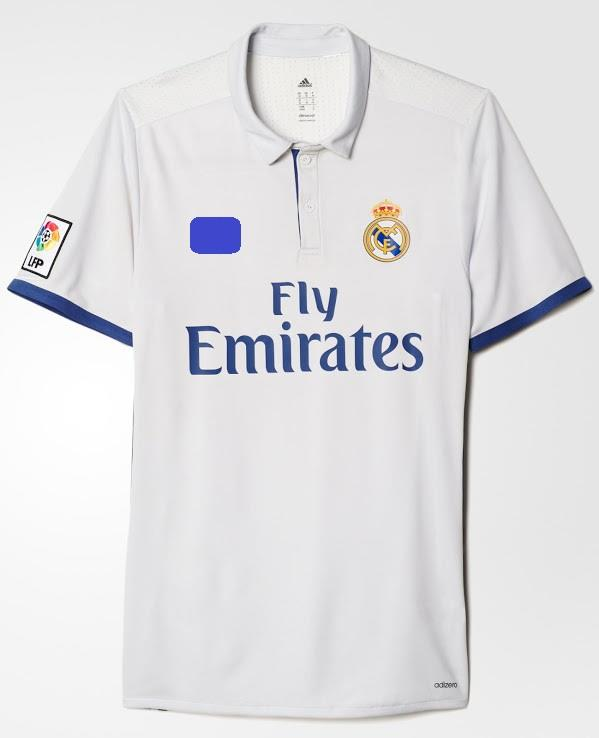 Jersey/Jersi Real Madrid Home 2016/2017- Adizero / Player Issue