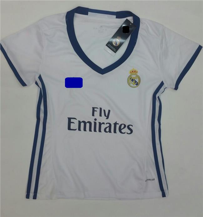 Jersey/Jersi Real Madrid Home 2016/2017 - Women Jersey