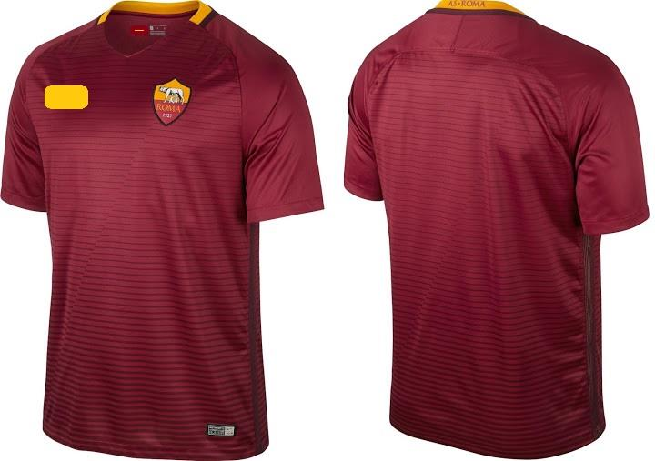 Jersey/Jersi AS Roma Home 2016/2017