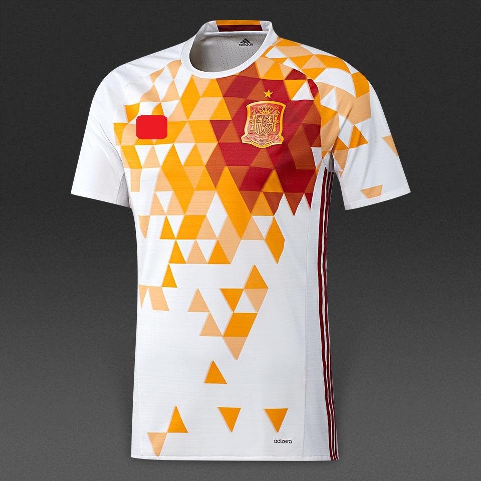 Jersey/Jersi Spain Away Euro 2016 Adizer0 PI Player Issue