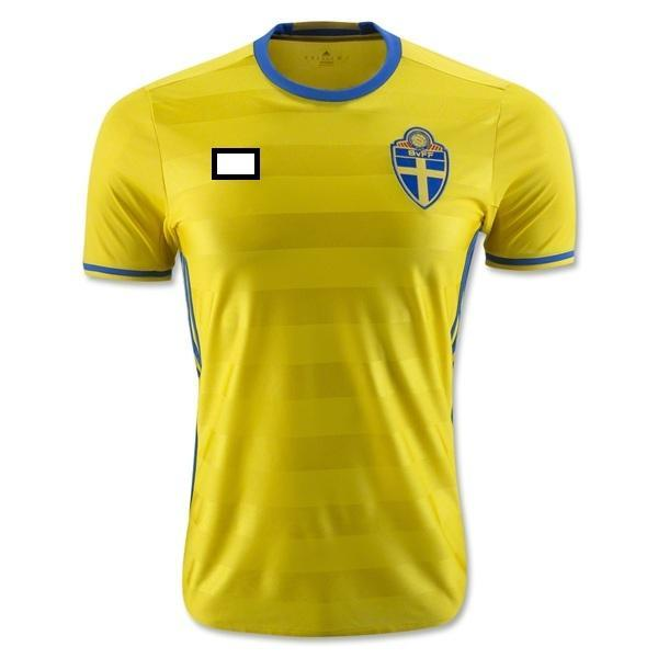 Jersey/Jersi Sweden Home Euro 2016