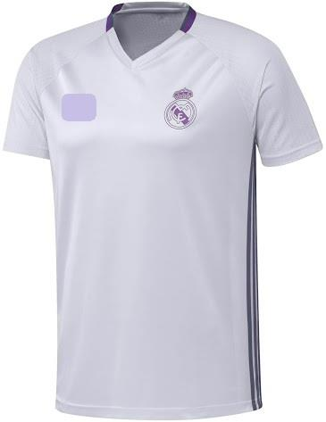 Jersey/Jersi Training / Pre Match Real Madrid 2016/2017-White-Adizero