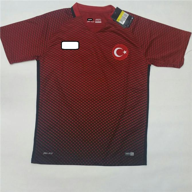 Jersey/Jersi Turkey/ Turki Home Euro 2016