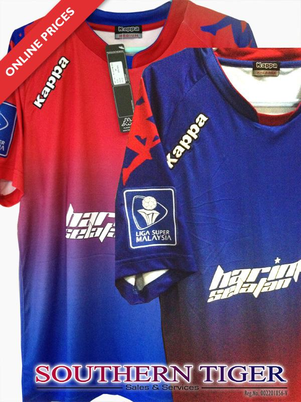 Jersey of Johor Darul Takzim FC (Home, Away & Training Kit) - Kappa Original