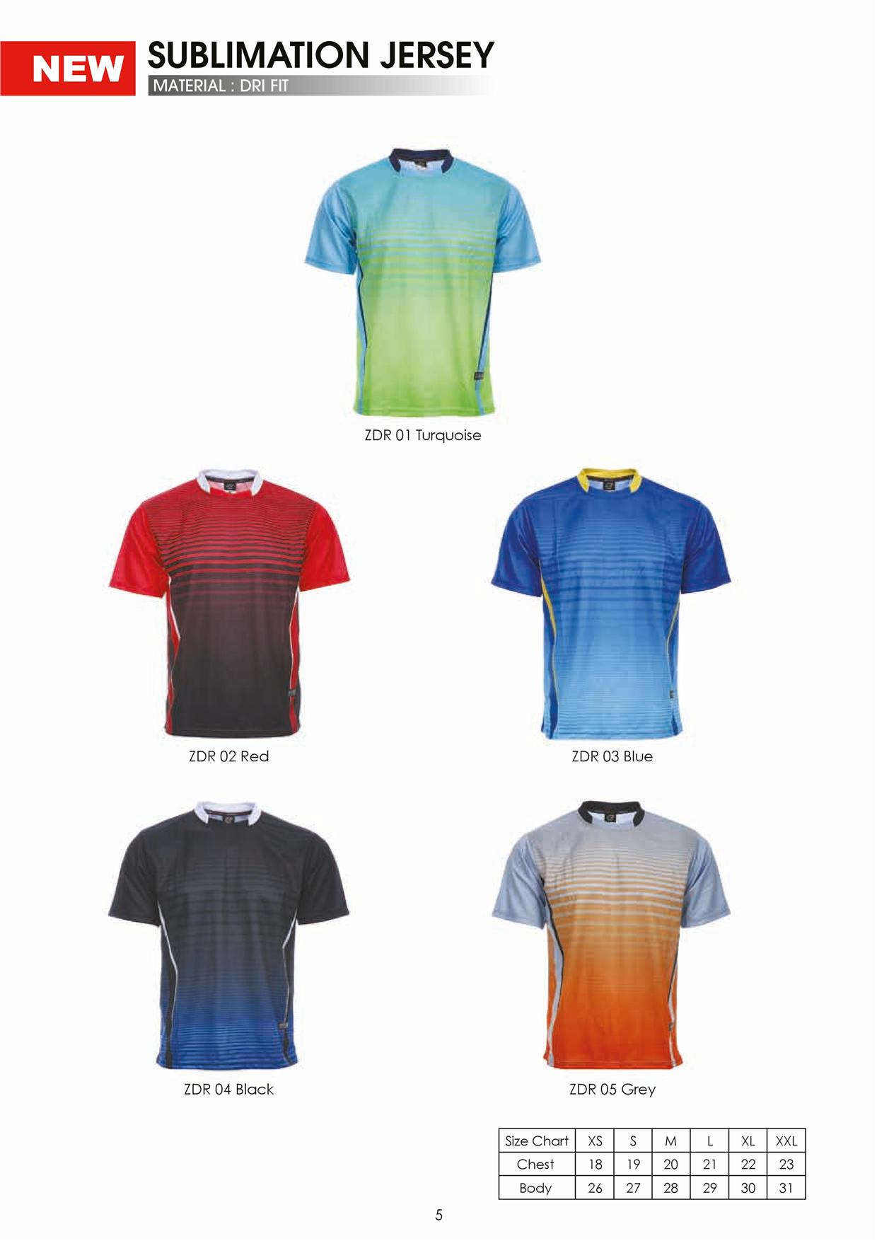 Jersey Sports Sukan Sublimination F (end 4/13/2015 10:15 PM)