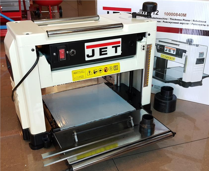 Jet 12 39 benchtop thicknesser end 10 27 2016 10 15 pm Bench planer