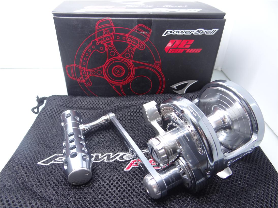 Jigging Master Power Spell PE8 JM QC00973 fishing reel