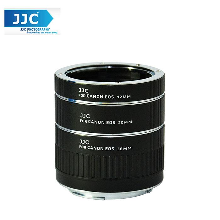 JJC AET-CS 12/20/36mm Auto Focus AF Macro Extension Tube Set for Canon