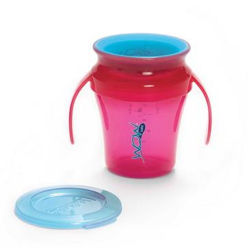 JUICY! WOW Baby� Translucent Spill Free Training Cups