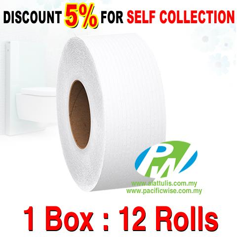 Jumbo Roll Tissue - JRT (12'r/box)