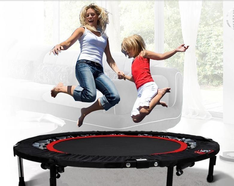 JumpSport Fitness Trampoline with armress