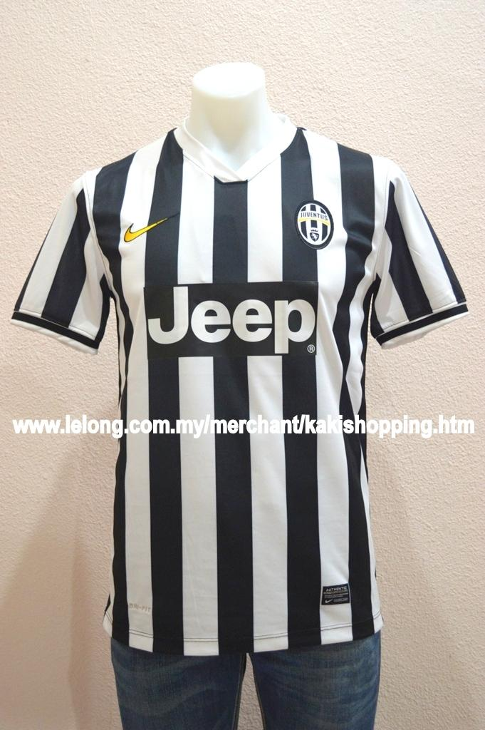 Juventus FC Home 2013/2014 Jersey/Jersi- S,M & XL-Official Kits