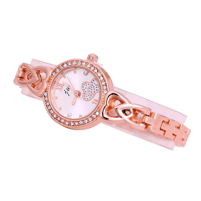 JW 3009 Love Design Casual Bracelet Woman Watch + Watch Box