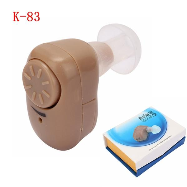 K-83 MINI In Ear Hearing Aid Sound Amplifier Voice Enhancement Volume
