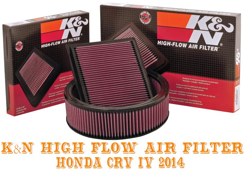 K&N Air Filter - Honda CRV IV 2014