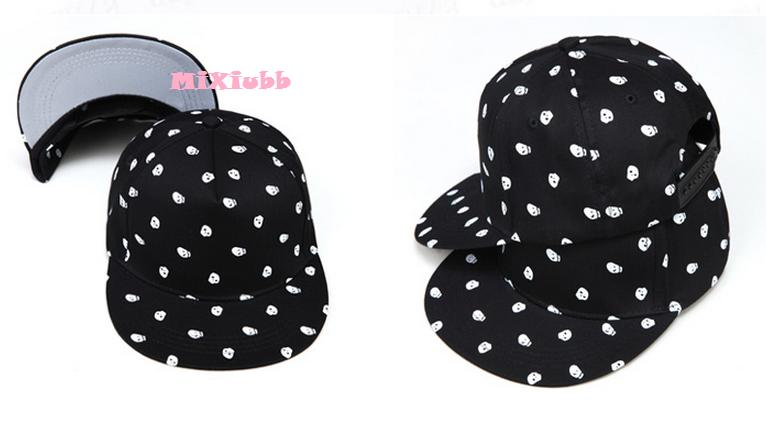 K-PoP Skull Hip-Hop Cap